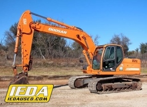 Used 2007 Doosan DX180 LC For Sale