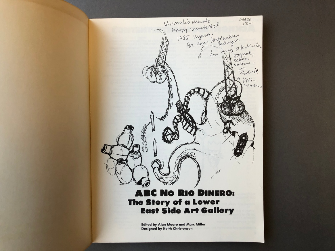 ABC No Rio Dinero : The Story of a Lower East Side Art Gallery thumbnail 3