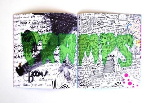 Doodle Diary & Sticker Book thumbnail 2