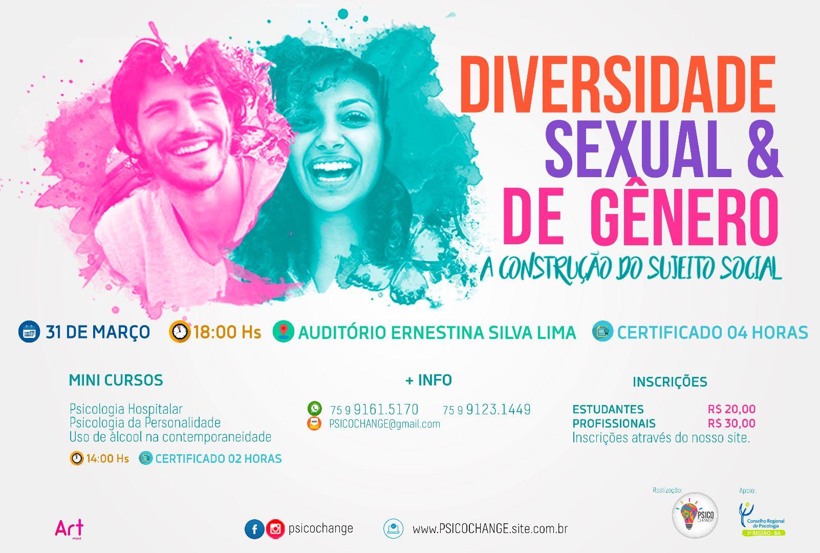 Diversidade sexual & de gênero: a construção do sujeito social.
