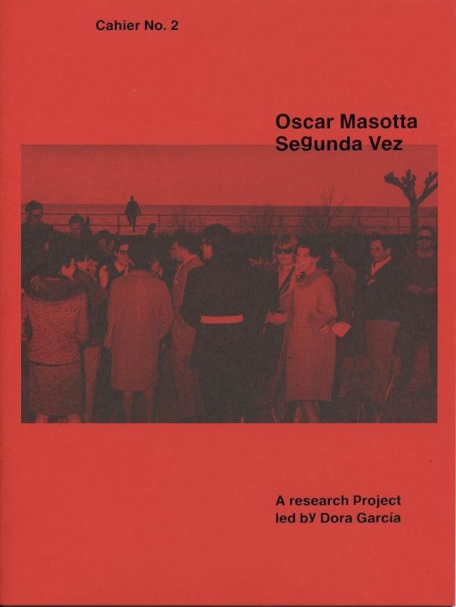 Oscar Masotta: Segunda Vez, Cahier No. 2