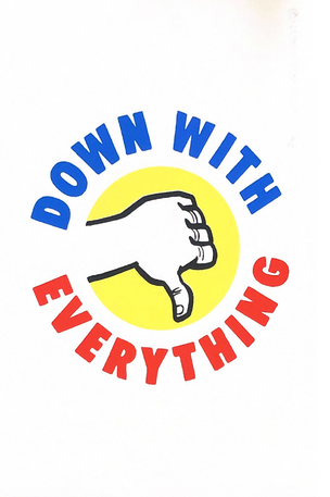 Down with Everything Poster