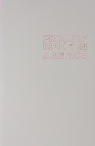 Proudly Made in America
