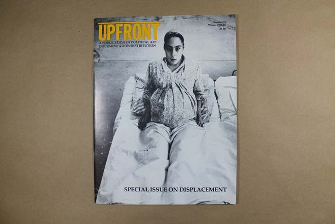 Upfront : A Publication of Political Art Documentation / Distribution