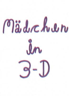 Mädchen in 3-D