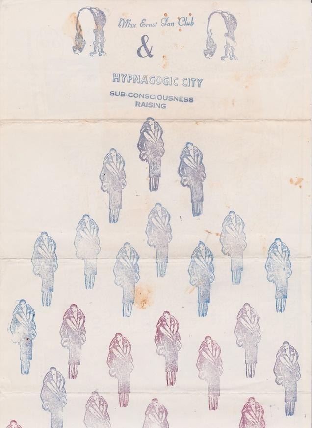 Untitled [Max Ernst Fan Club]