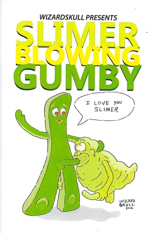 Slimer Blowing Gumby