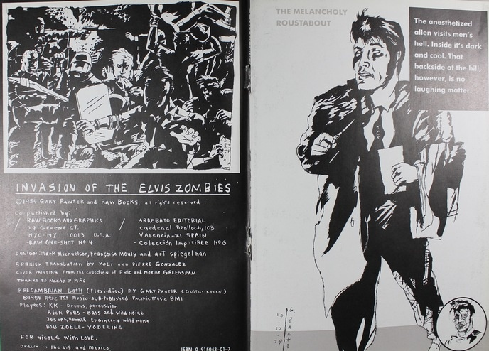Gary Panter - The Invasion of the Elvis Zombies - Printed Matter