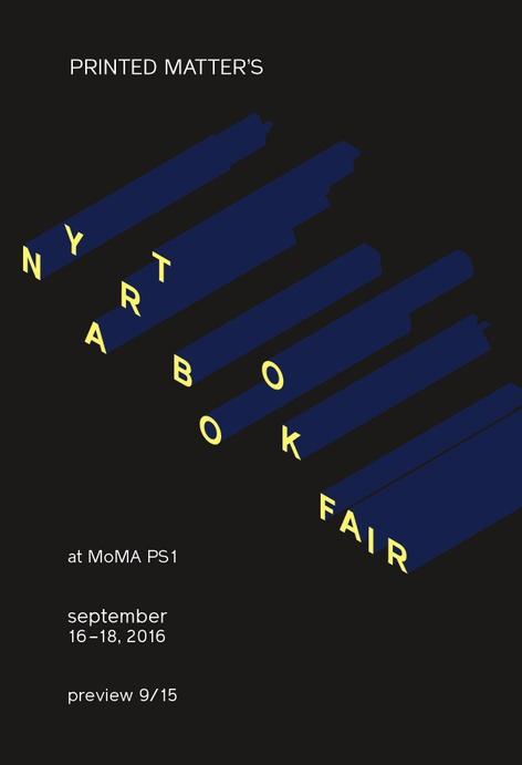 NY ART BOOK FAIR 2016