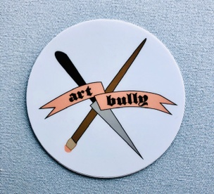 Art Bully Sticker