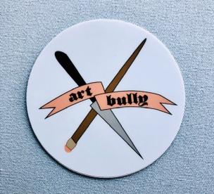 Art Bully Sticker