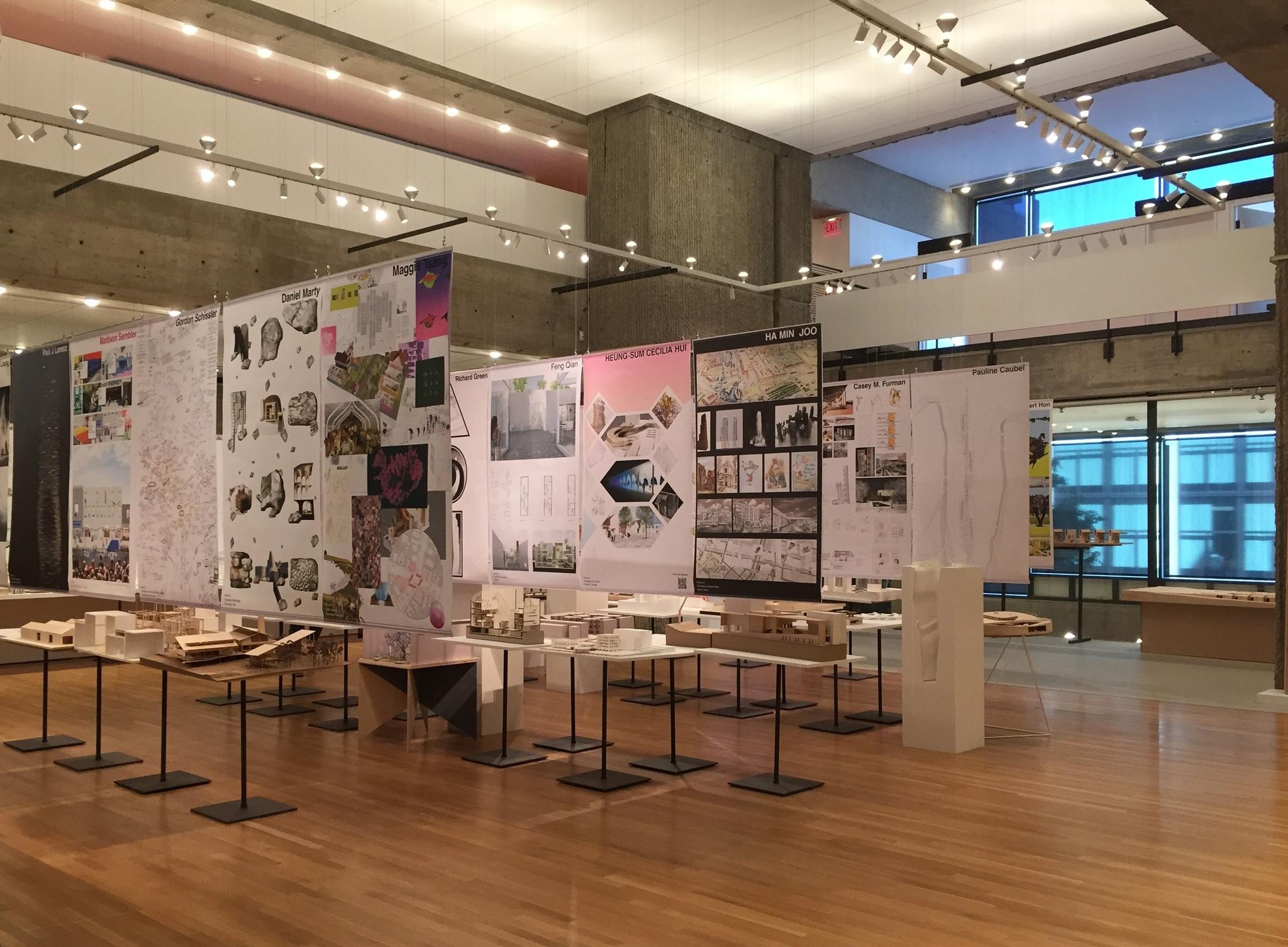 Reception for 2018 Graduates Yale Architecture