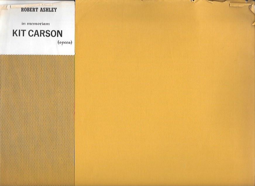 In Memoriam: Kit Carson (Opera), Eight Part Ensemble