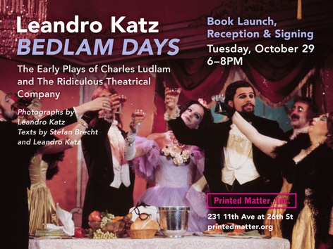 Bedlam Days: Book Launch and Signing with Leandro Katz