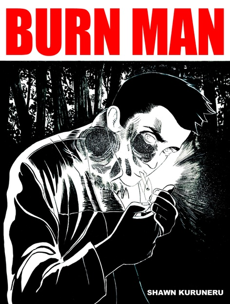 BURN MAN graphic novel launch