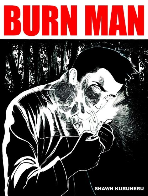 BURN MAN graphic novel launch