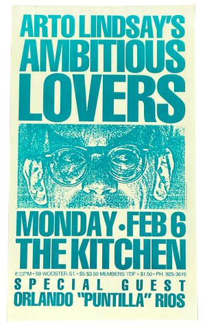 Ambitious Lovers, February 6, 1984 [The Kitchen Posters]