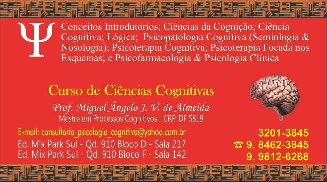 Curso de aperfeiçoamento em Abordagem Integrativa dos Paradigmas Cognitivos com a Psicoterapia Focada nos Esquemas