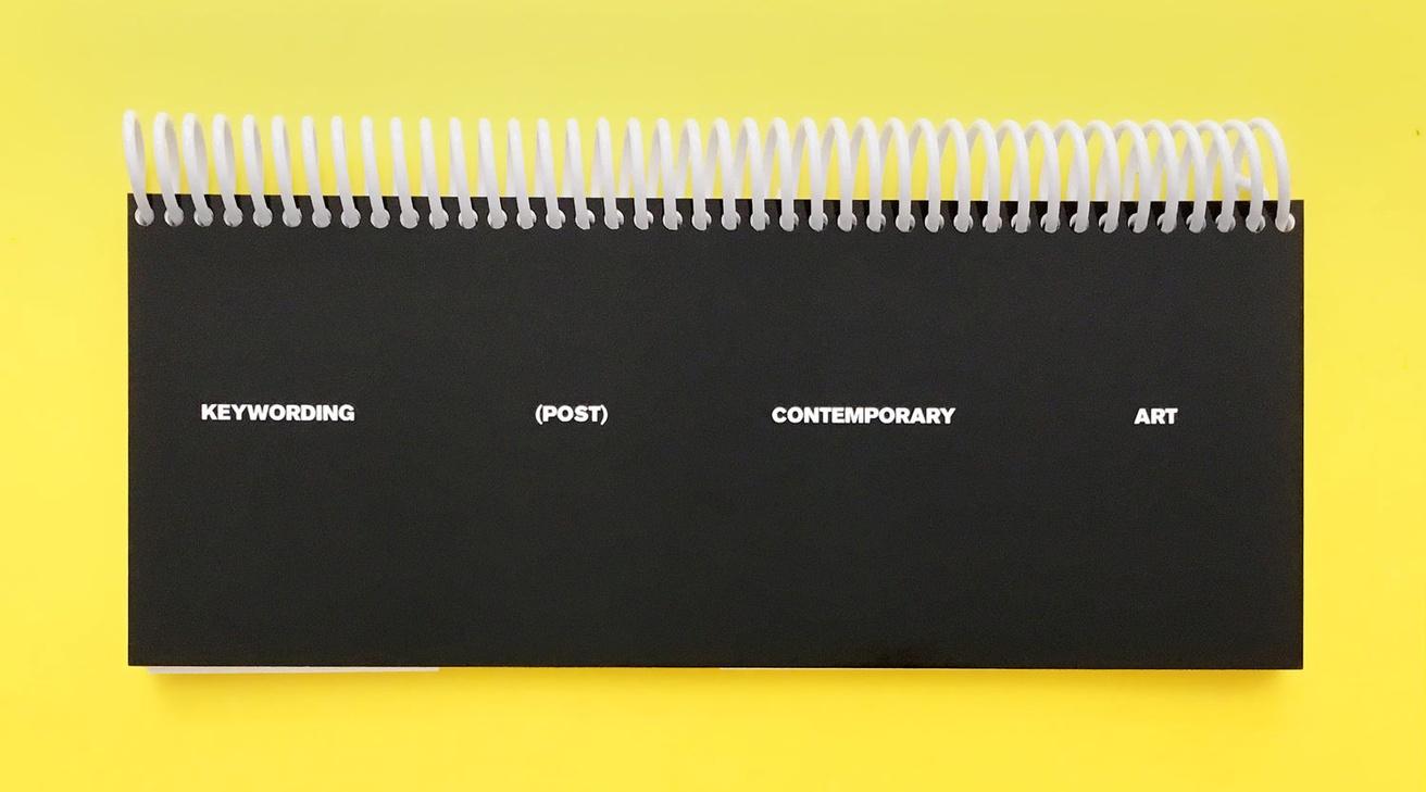 Keywording (Post) Contemporary Art