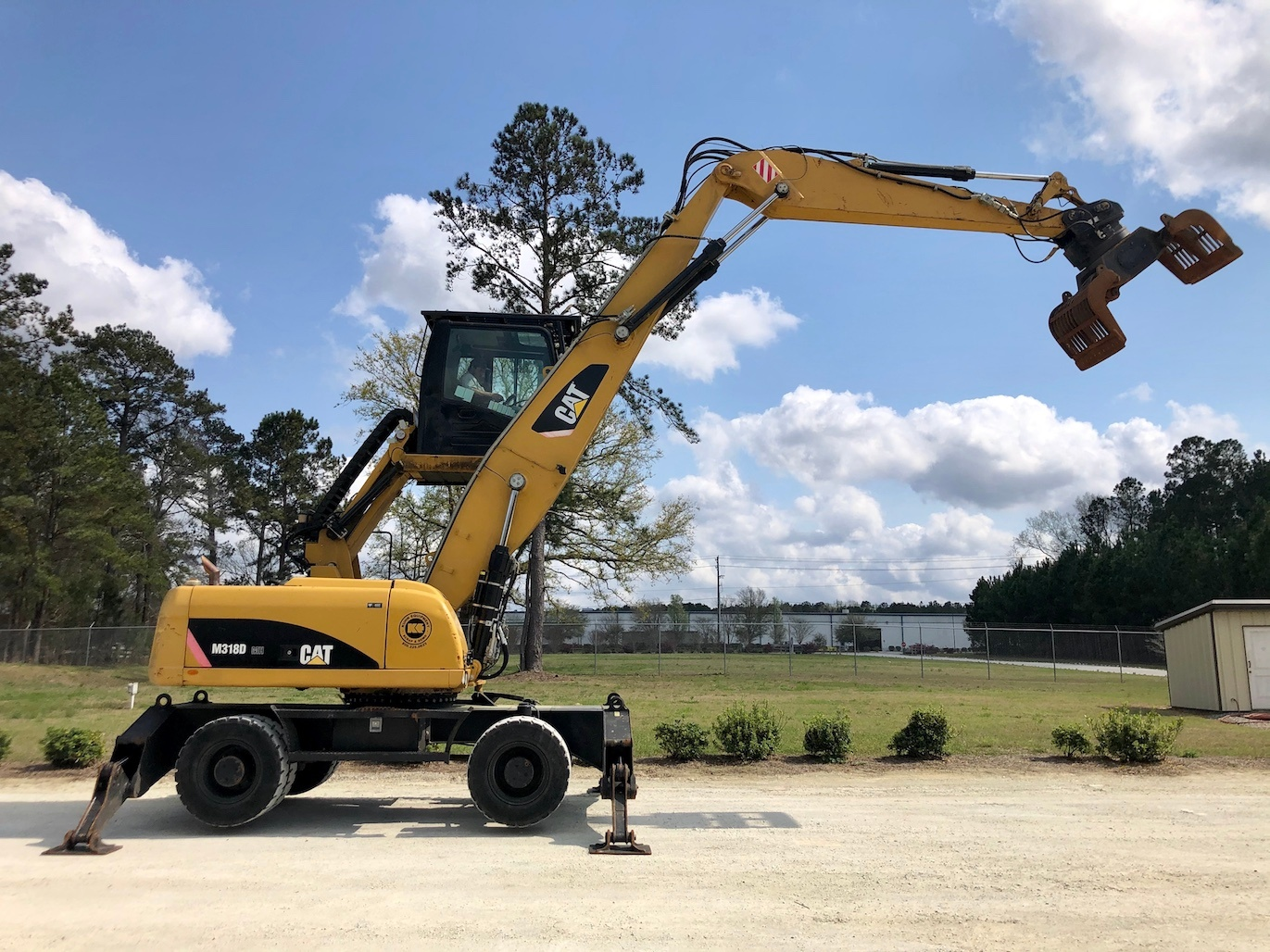 Used 2011 Caterpillar M318D MH For Sale