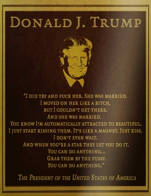 HALT Donald J. Trump Sticker