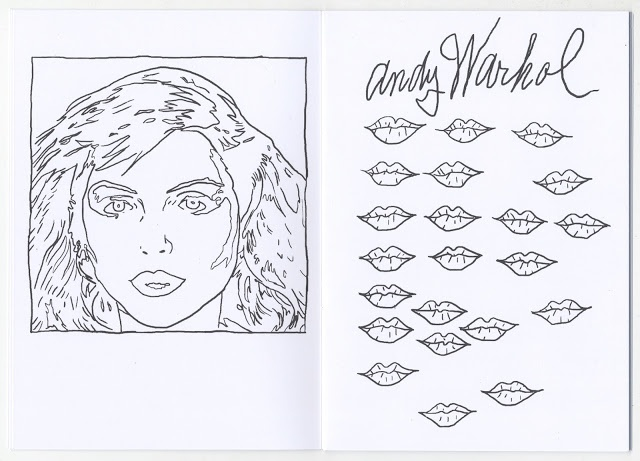 Christian Gfeller - Andy Warhol Coloring Book - Printed Matter