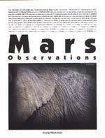 Mars Observations