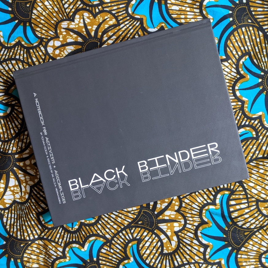 Black Binder, A Notebook for Activist and Accomplices thumbnail 2