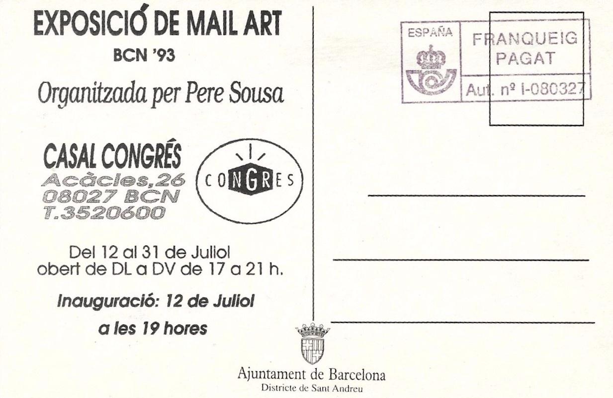 Esposició de Mail Art [Postcard] thumbnail 2