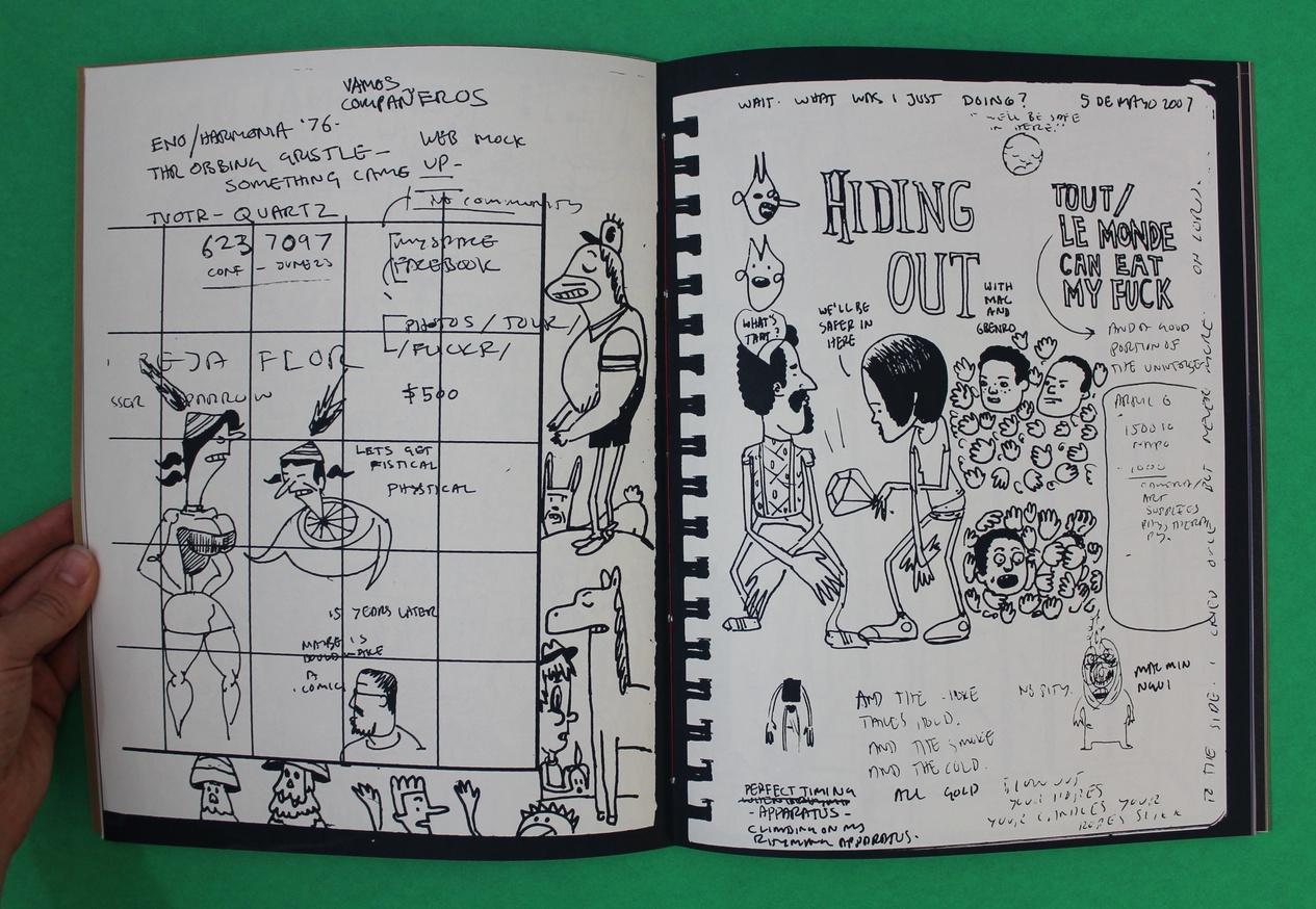 Tunde Adebimpe : Tour Sketch Journos, 2003-2014 thumbnail 3