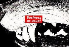 Untitled, 1988 (Business As Usual) Postcard