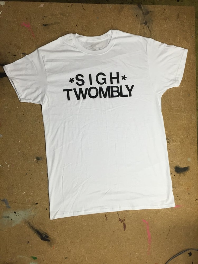 Sigh Twombly T-Shirt [Large]
