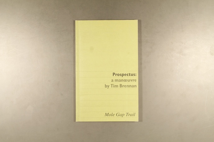Prospectus : A Manoeuvre by Tim Brennan thumbnail 4