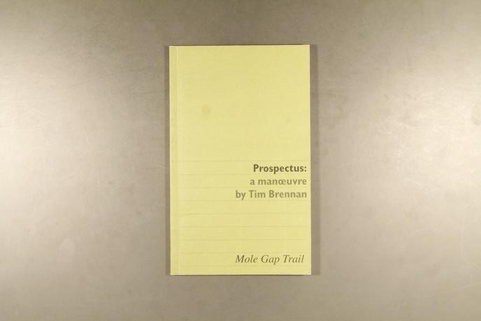 Prospectus : A Manoeuvre by Tim Brennan thumbnail 4