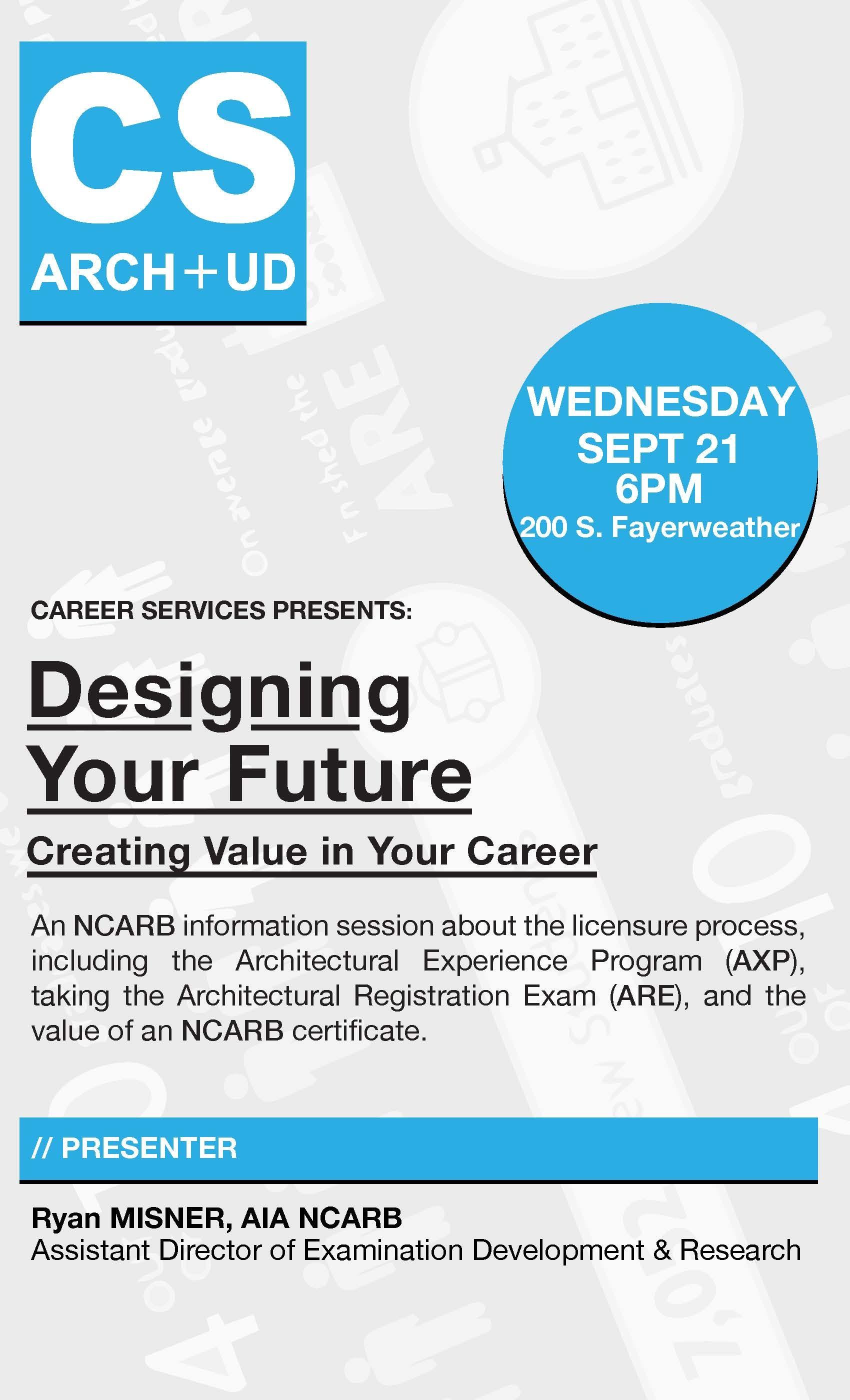 Designing Your Future Creating Value In Your Career Columbia Gsapp