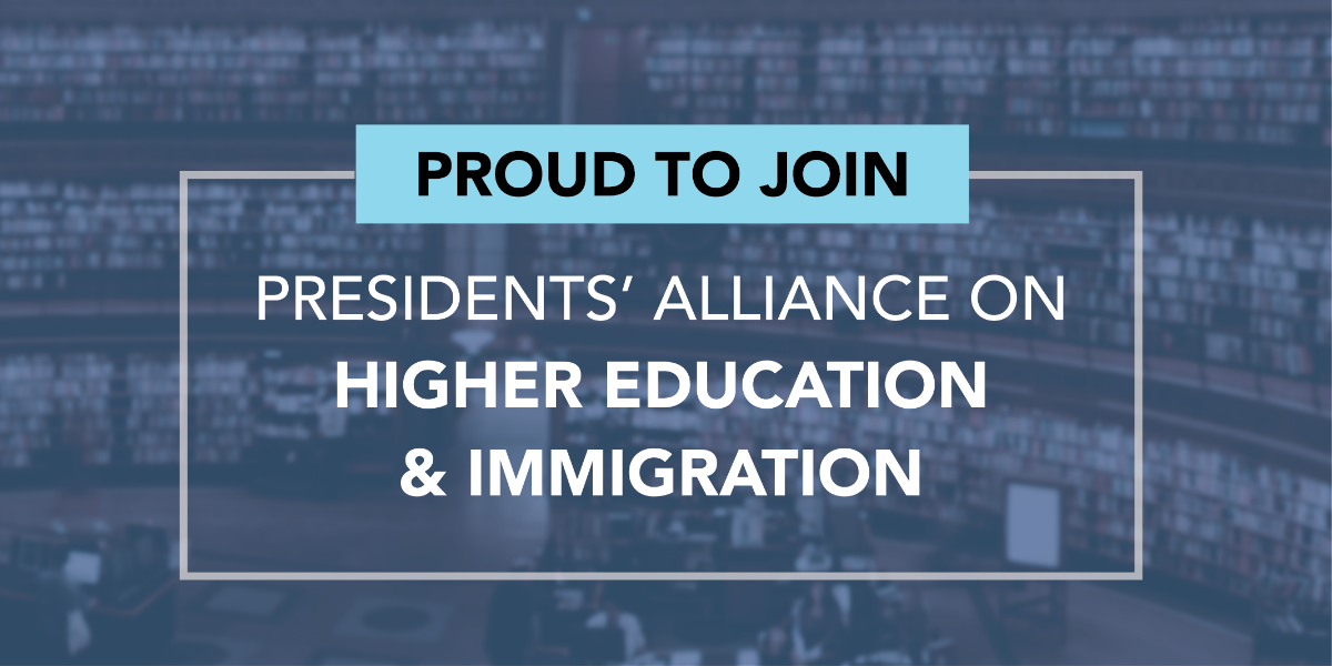 President Ochoa Joins Presidents' Alliance on Higher Education and Immigratio