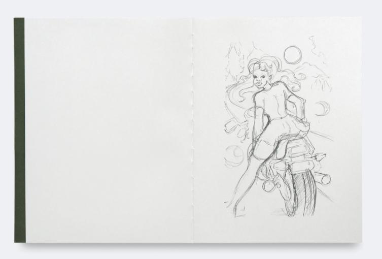 Somaya Critchlow: Drawings thumbnail 2