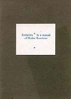 Footnotes To a Manual of Shaker Furniture