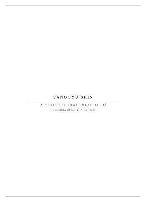 ARCH ShinSanggyu SP20 Portfolio.pdf_P1_cover.jpg