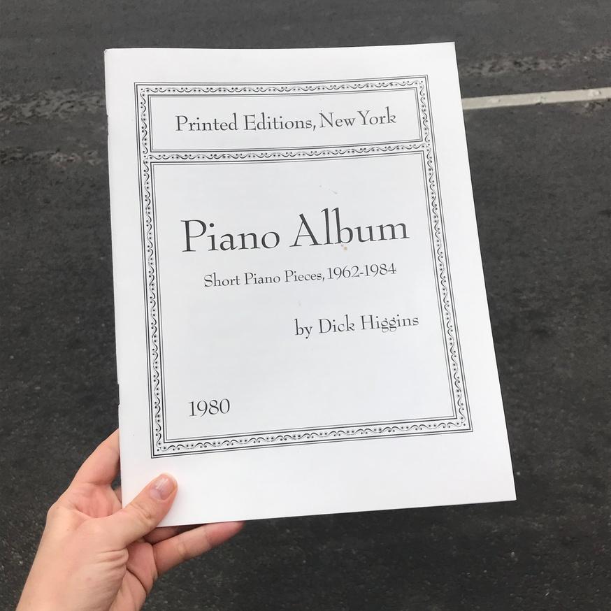 Piano Album: Short Piano Pieces,1962-1984