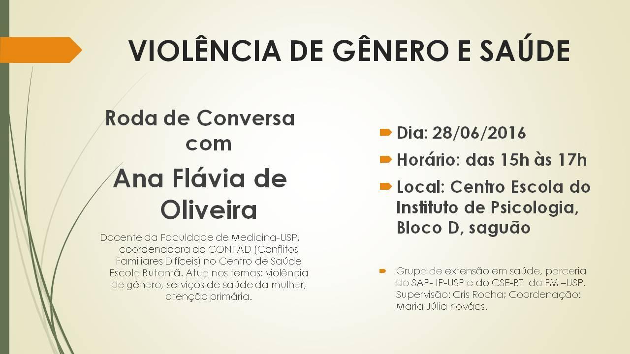 Violência de Gênero e Saúde