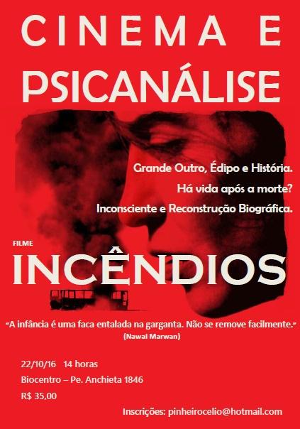 CINEMA E PSICANÁLISE - FILME INCÊNDIOS