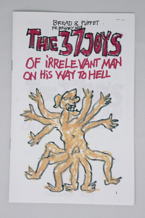 The 37 Joys of Irrelevant Man on His Way to Hell