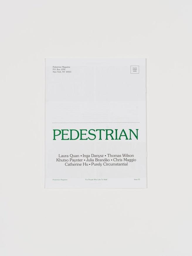 Pedestrian Magazine #5 thumbnail 3