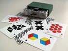 One Deck of Cards: Geometric Suits [No Case]