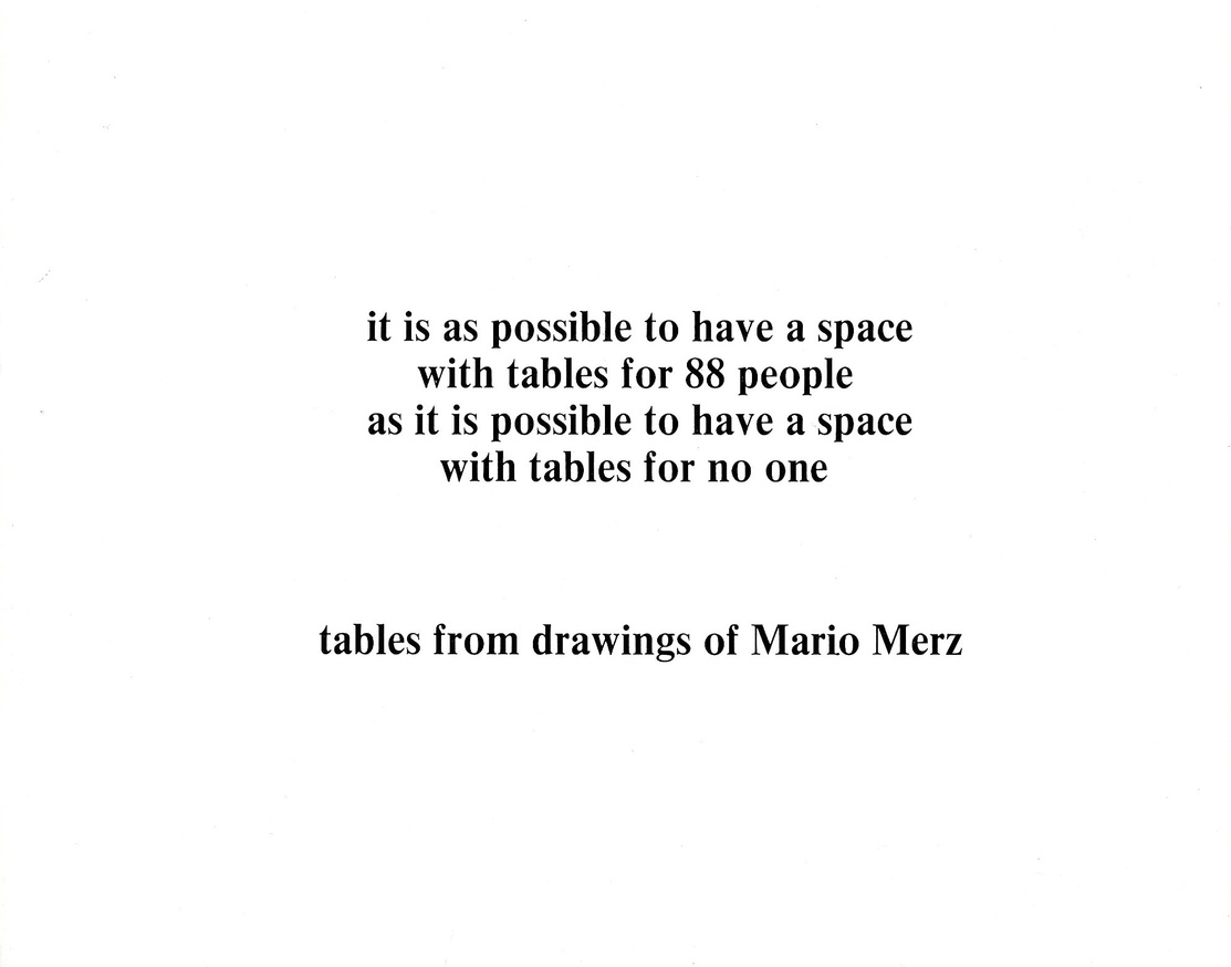 Tables from Drawings