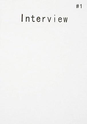 Interview #1
