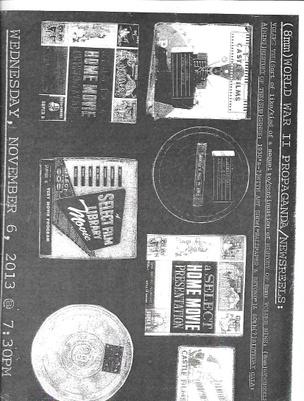 8mm World War II Propaganda/Newsreels