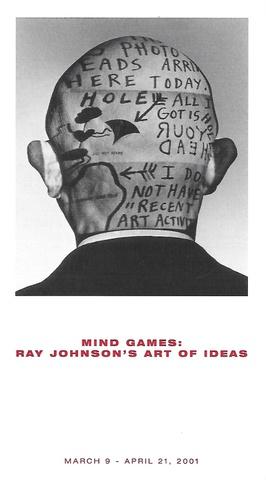 Mind Games : Ray Johnson's Art of Ideas