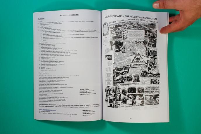 Miriam Sharon's Alternative Museum:  A Book Retrospective 20 Years Art for Peace thumbnail 5